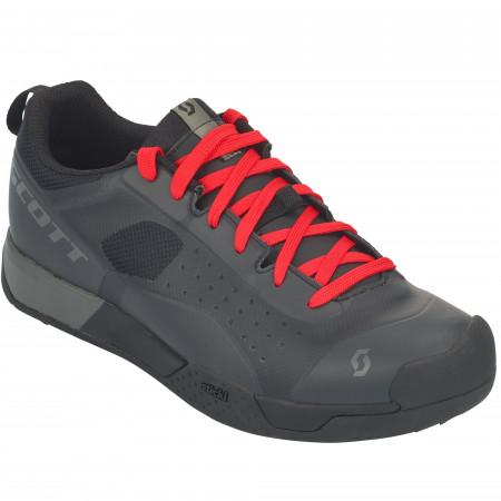 Pantofi Ciclism Scott MTB Ar Lace Negru/Gri/Rosu 47