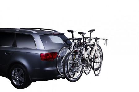 Suport Biciclete THULE Hangon 3 Biciclete Rabatabil pentru Carligul de Remorcare