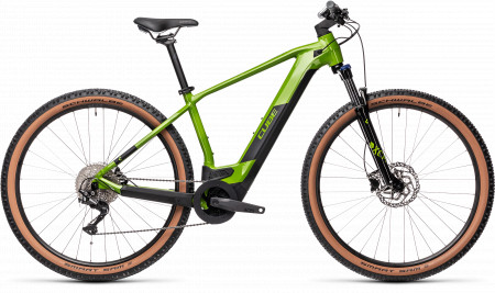 BICICLETA CUBE REACTION HYBRID ONE 500 29 Deepgreen Black