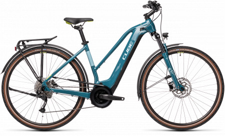 BICICLETA CUBE TOURING HYBRID ONE 625 Blue Green