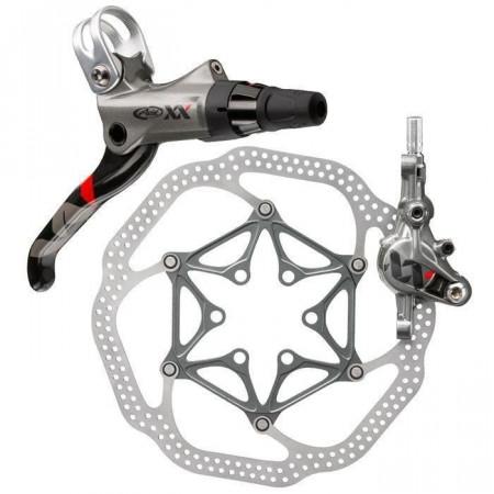 Frana Disc Hidraulica Fata SRAM XX Gri Rotor G3 160mm