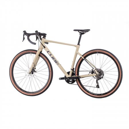 Bicicleta CUBE NUROAD PRO Desert Grey