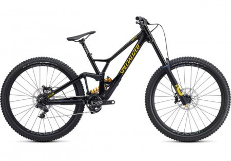 Bicicleta SPECIALIZED Demo Race 29 Gloss /Metallic Black/Burnt Yellow