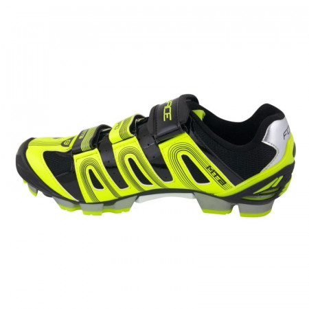 Pantofi Force MTB Hard Negru/Fluo