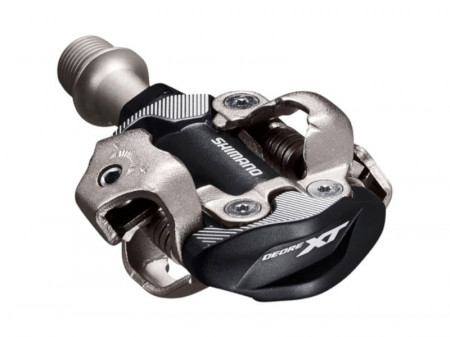 Pedale Shimano Deore XT PD-M8100, SPD, FARA catadioptrii