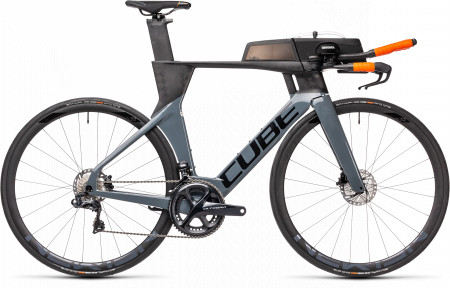 BICICLETA CUBE AERIUM C:68 TT SL HIGH Carbon Grey