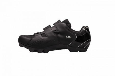 Pantofi ciclism FLR F-55 III Elite MTB - Negru