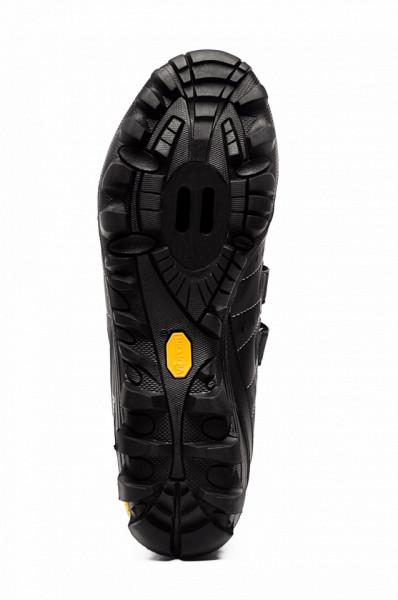 Pantofi ciclism FLR Freeride Bushmaster MTB - Negru-Argintiu