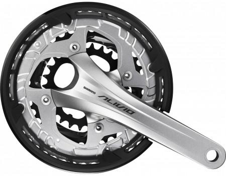 Angrenaj Shimano Alivio FC-T4060 48x36x26T 175mm 9V Argintiu