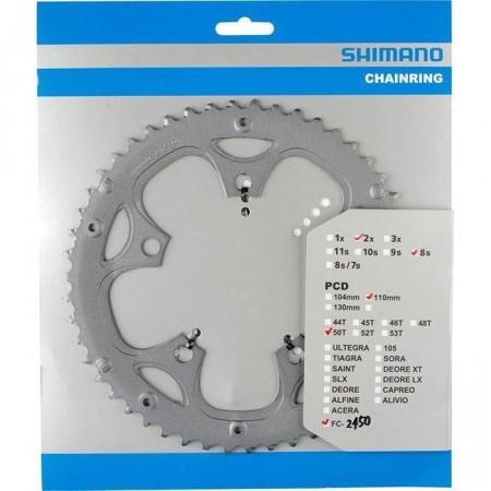Foaie Angrenaj Shimano FC-2450 34T Argintiu