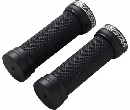 Mansoane Reverse Youngstar Lock-on 28x98mm negru-negru