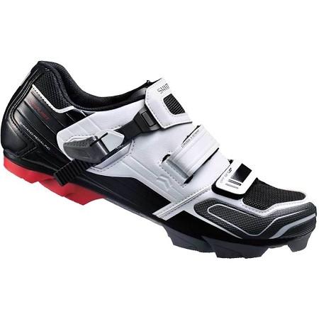 Pantofi Shimano MTB SM-XC51W Negru/Alb
