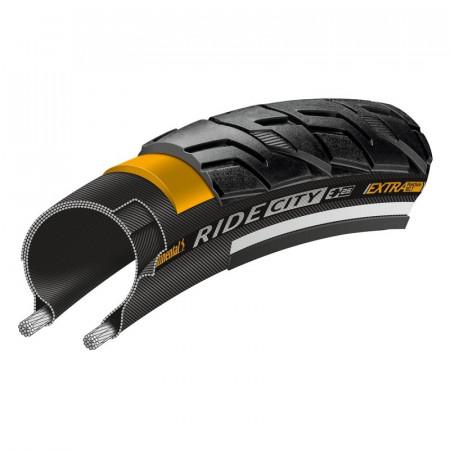 Anvelopa Continental Ride City Reflex EXTRA PunctureBelt 47-559 (26*1.75) negru