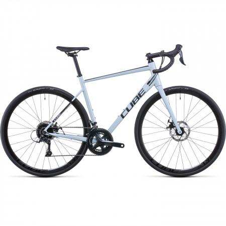 Bicicleta CUBE ATTAIN PRO Skygrey Black