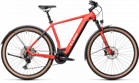 BICICLETA CUBE CROSS HYBRID RACE 625 ALLROAD Red Grey