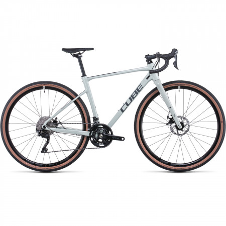 Bicicleta CUBE NUROAD WS Stonegrey Grey