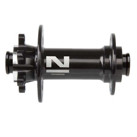 Butuc Fata Novatec D791 SB/A (4 in 1) 32H 15mm Thru Axle Negru