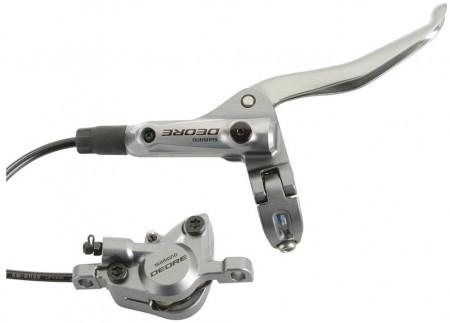Frana Disc Hidraulica Spate Shimano Deore BL-T615/BR-T615 Argintiu