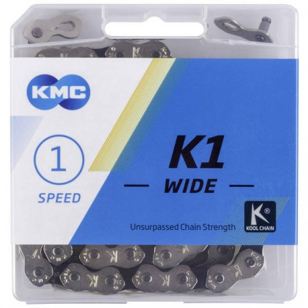 Lant KMC 1V Wide Silver/Black
