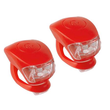 Set Lumini Flash M-WAVE Cobra IV Rosu