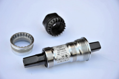 Butuc Pedalier Shimano BB-UN55 68-115mm