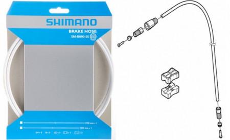 Conducta Frana Shimano Deore SM-BH90-SS 200cm Alb