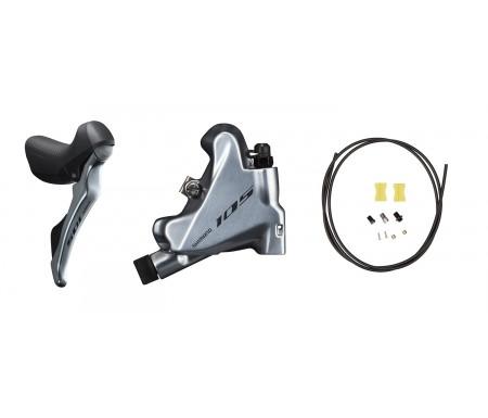 Frana pe Disc Hidraulica Sosea Shimano 105 ST-R7020 + Maneta Schimbator Spate