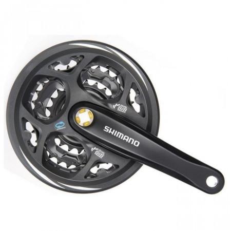 Angrenaj Shimano Altus FC-M311-L 42x32x22T 170mm7/8 vit negru