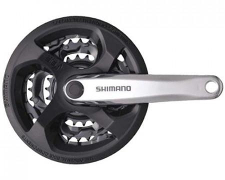 Angrenaj Shimano Tourney FC-M131 48x38x28T brat 170mm 6/7/8vit.