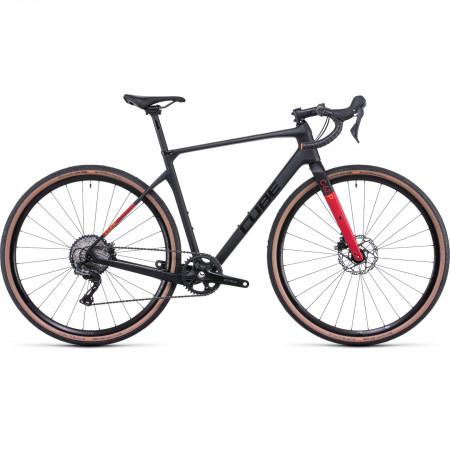 Bicicleta CUBE NUROAD C:62 PRO Carbon Red