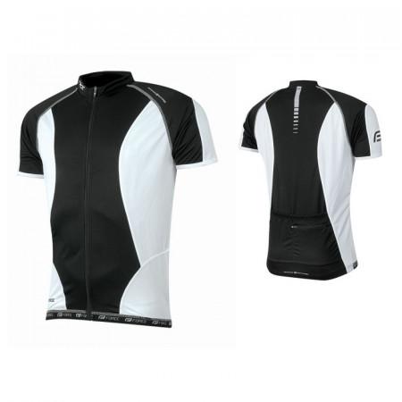 Bluza Ciclism Force Lux T12 Negru/Alb