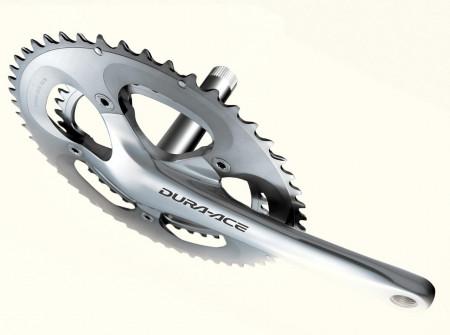 Angrenaj Shimano Dura-Ace FC-7800 2x10 V 53-39T Brat 172.5mm