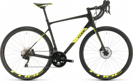 Bicicleta CUBE ATTAIN GTC RACE 56 Carbon Flashyellow 2020