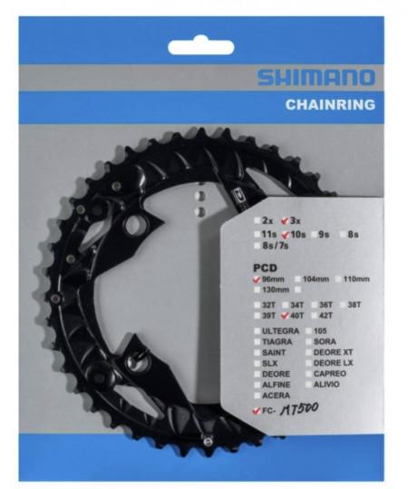 Foaie Angrenaj Shimano FC-MT500 10V 40T