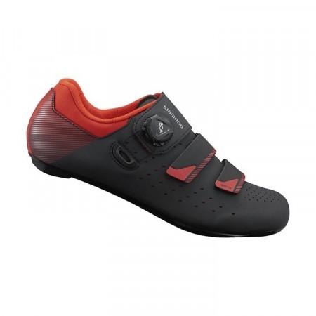 Pantofi Shimano SH-RP400M0 Black/Orange/Red