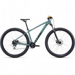 Bicicleta CUBE AIM PRO Olive Orange