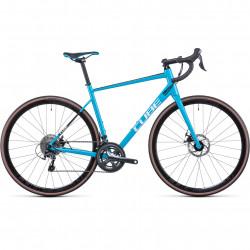 Bicicleta CUBE ATTAIN RACE Skyblue Black