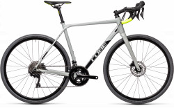 BICICLETA CUBE CROSS RACE PRO Grey Flashyellow