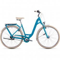 Bicicleta CUBE ELLA CRUISE EASY ENTRY Aquamarine Black