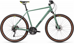 BICICLETA CUBE NATURE EXC Green Bluegreen