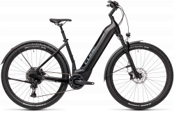 BICICLETA CUBE NURIDE HYBRID EXC 625 ALLROAD EASY ENTRY Black Grey