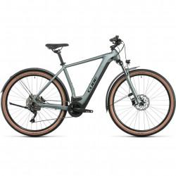 Bicicleta CUBE NURIDE HYBRID PRO 625 ALLROAD Silvergreen Black