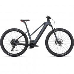 Bicicleta CUBE REACTION HYBRID EXC 625/750 29 TRAPEZE Grey Red