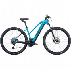 Bicicleta CUBE REACTION HYBRID ONE 500 TRAPEZE Aquamarine Orange
