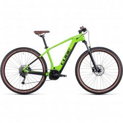 Bicicleta CUBE REACTION HYBRID PERFORMANCE 625 Shinyapple Black