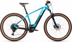 BICICLETA CUBE REACTION HYBRID PRO 625 29 Petrol Orange