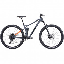 Bicicleta CUBE STEREO 120 PRO Grey Orange