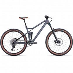 Bicicleta CUBE STEREO 140 HPC RACE 27.5 Grey Orange