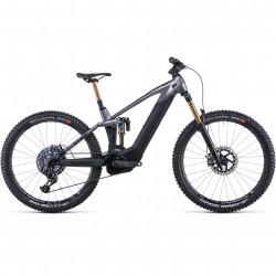 Bicicleta CUBE STEREO HYBRID 140 HPC SLT 625/750 Prizmsilver Carbon