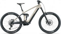 Bicicleta CUBE STEREO HYBRID 160 HPC SL 625/750 27.5 Desert Black